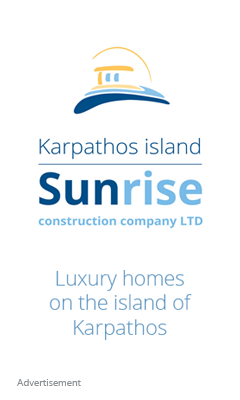 Karpathos Sunrise construction - luxury homes for sale